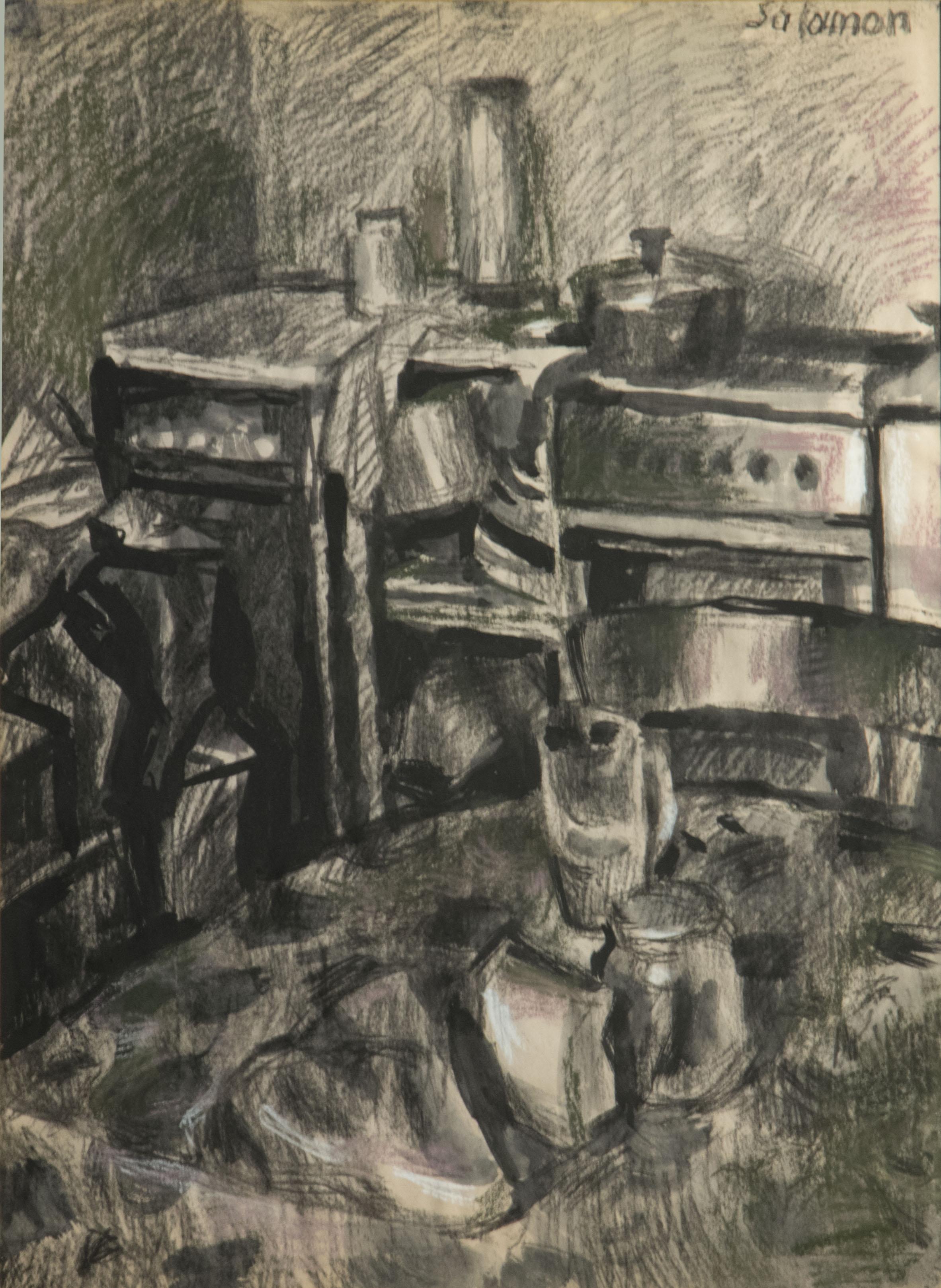 Salamon György:  A konyha